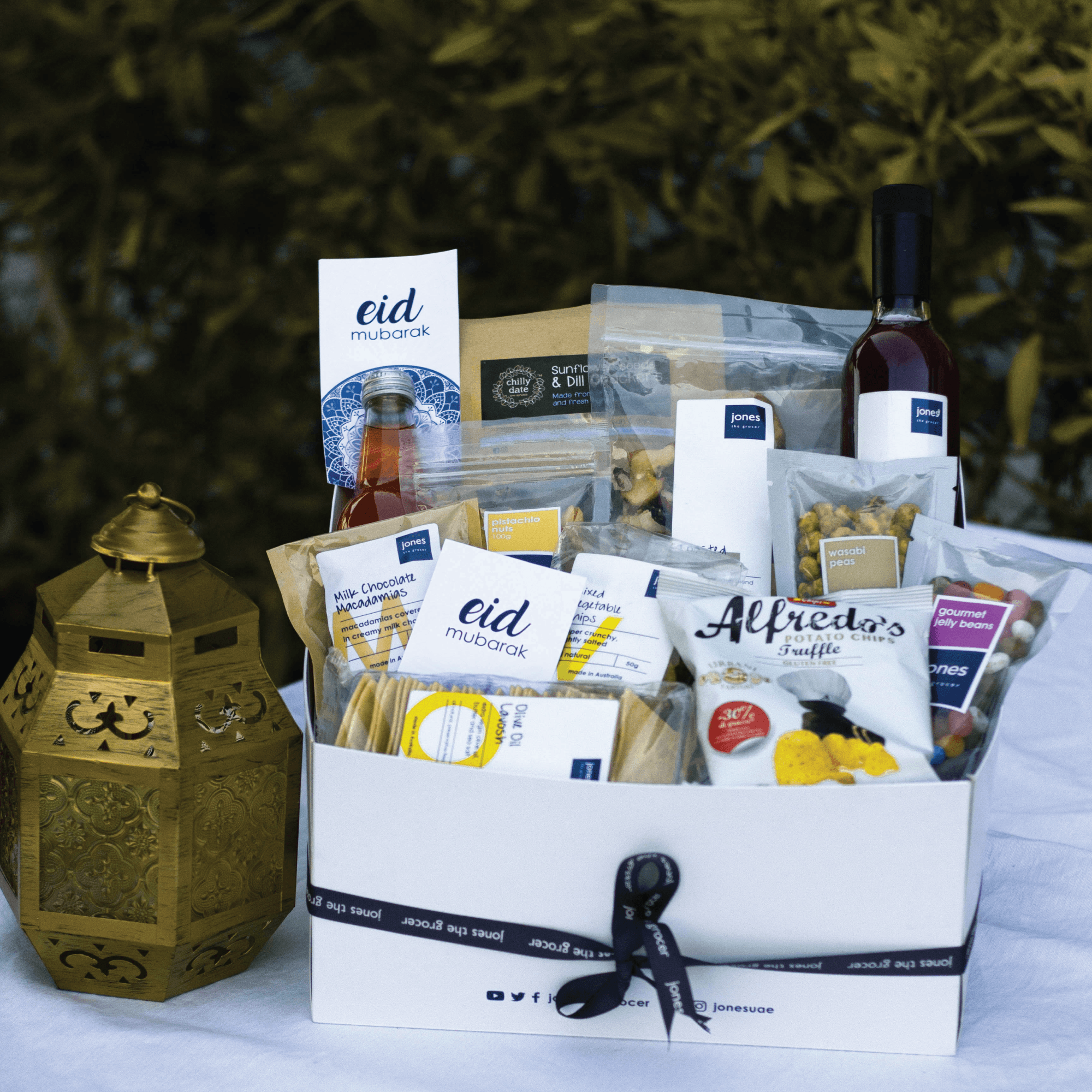 Eid Box Of Delights Gift Hamper Products From Jones The Grocer Uk